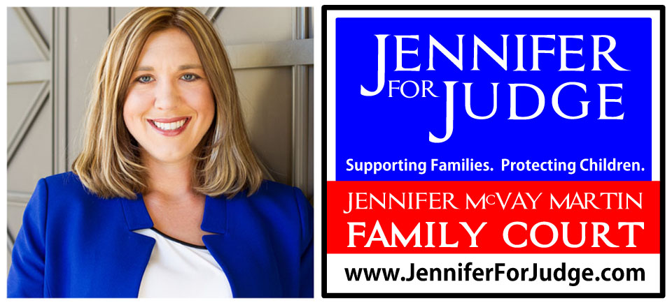Jennifer Mcvay Martin for Judge